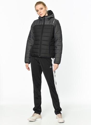 Reebok Kapüşonlu Şişme Mont Siyah
